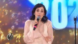 Flor Torrente se emocionó en su performance del Cantando 2020
