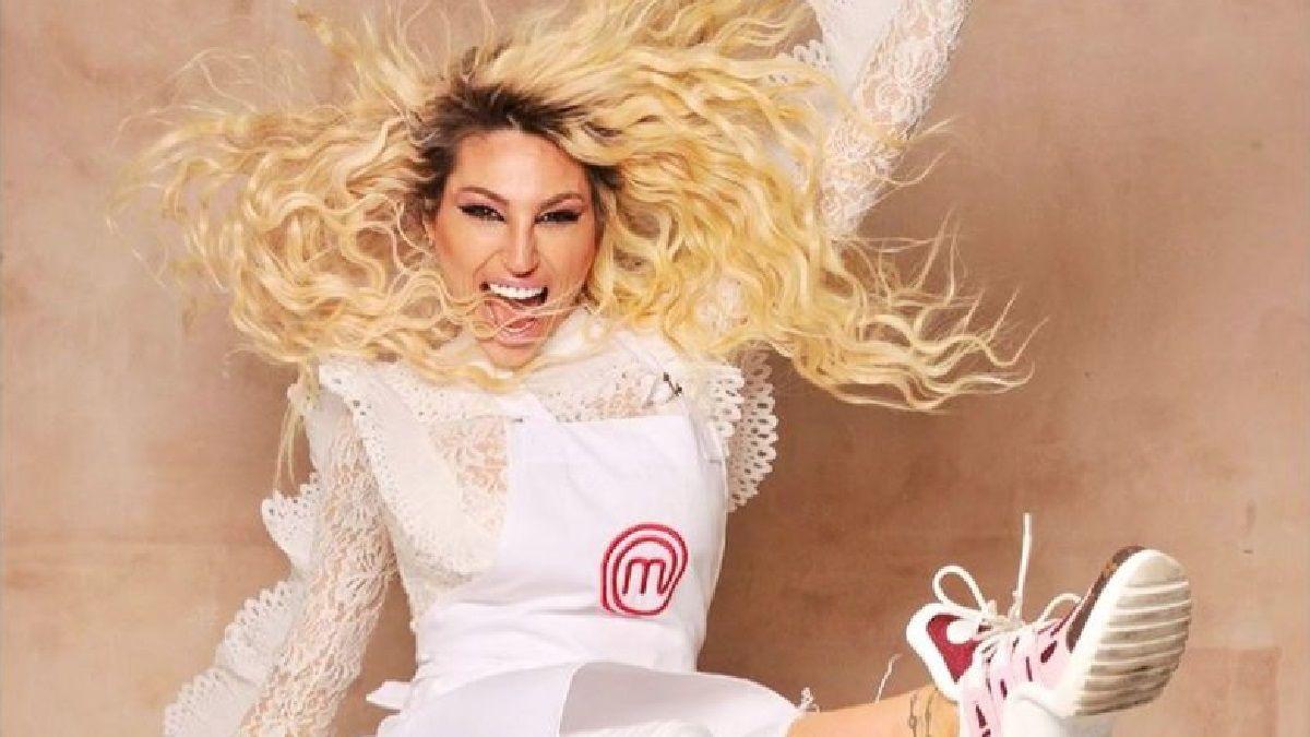 La modelo Vicky Xipolitakis en medio de la polémica