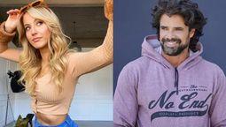 Florencia Vigna y Luciano Castro confirmaron su relación
