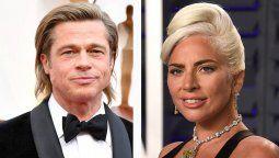 ¡Mucho talento! Lady Gaga estará junto a Brad Pitt en una película