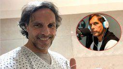 El periodista Gustavo López recibió el alta, tras ser internado luego del contagio por coronavirus