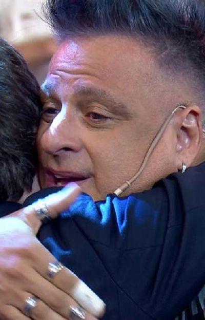 Marcelo Iripino abrazó a Guido Kaczka en Bienvenidos a Bordo