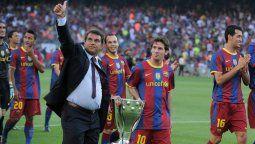 ¡En sus manos! Lionel Messi pudiera quedarse gracias a Joan Laporta
