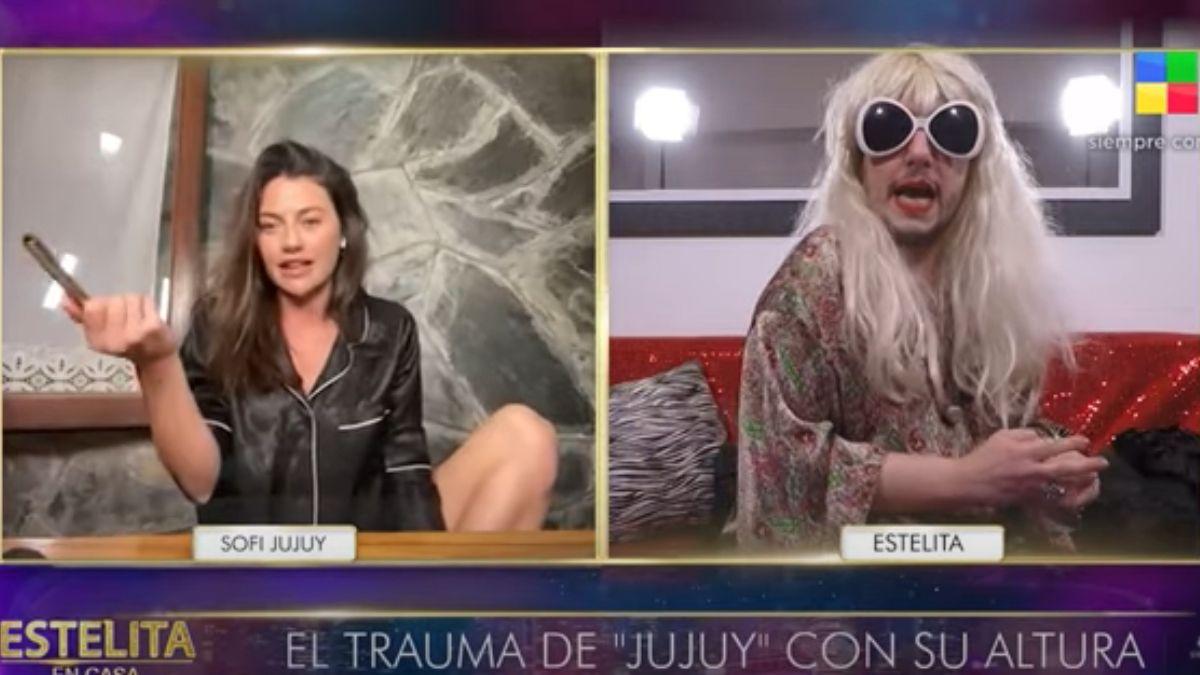 ¡Incómodo! Sofía Jujuy Jiménez se enteró al aire de un amorío de Juan Martín del Potro