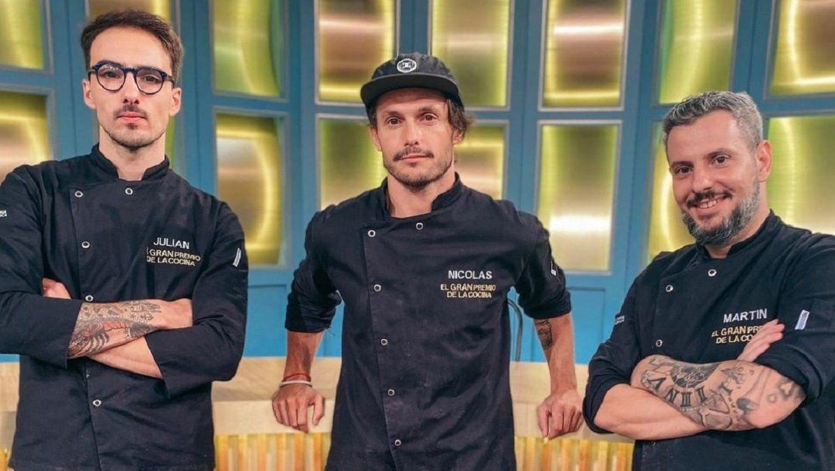 El Gran Premio de la Cocina: Juan Marconi y Carina Zampini anunciaron que Martín