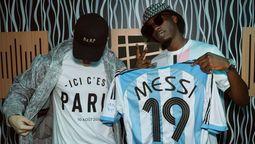Lionel Messi agradeció en las redes sociales a MDH y a Bizarrap por haberle escrito una canción