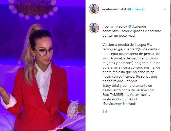 Noelia Marzol descargó a sus denunciantes