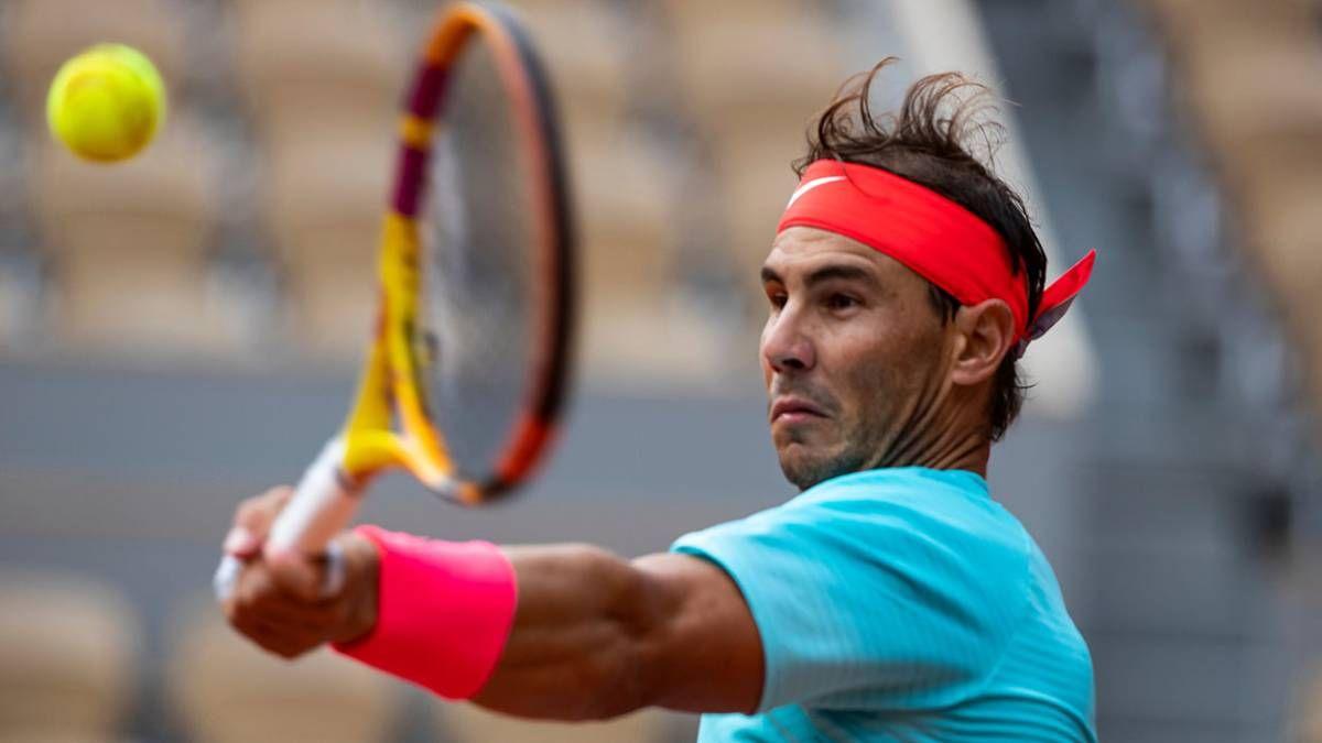 Rafa Nadal se siente contento tras su inicio en el Roland Garros