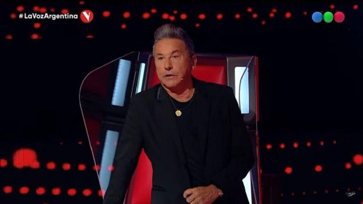 Ricardo Montaner se mostró emocionado en La Voz con la presentación de dos hermanos