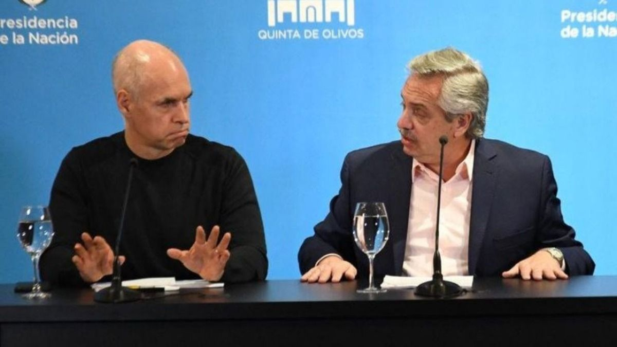 Horacio Rodríguez Larreta y Alberto Fernández se reunirán el sábado