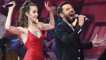 Agustin Sierra e Inbal Comedi, finalistas del Cantando 2020