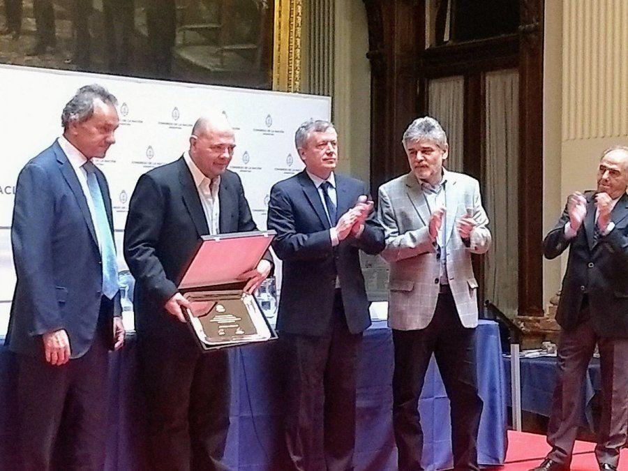 Carlos Rottemberg, reconocido por la Cámara de Diputados por su aporte a la cultura