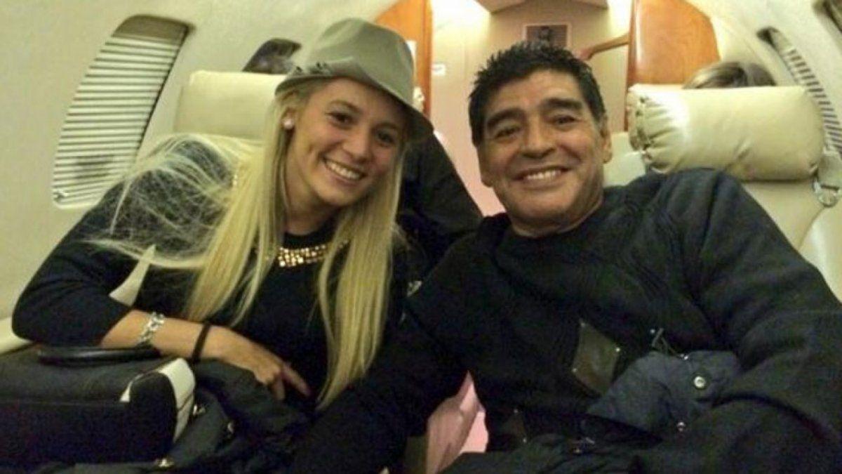 Rocío Oliva y un contrato polémico. Nuevos audios en la causa por la muerte de Diego Maradona.