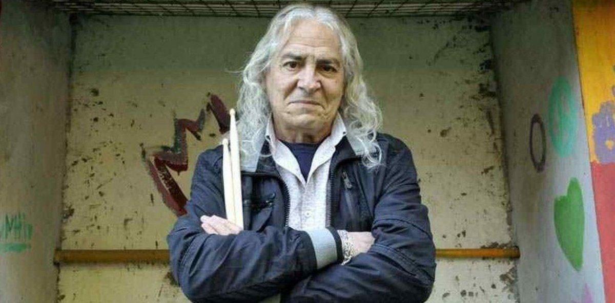 ¡Hasta siempre Rodolfo García! El baterista falleció a los 75 años y toda la música argentina lo despide.