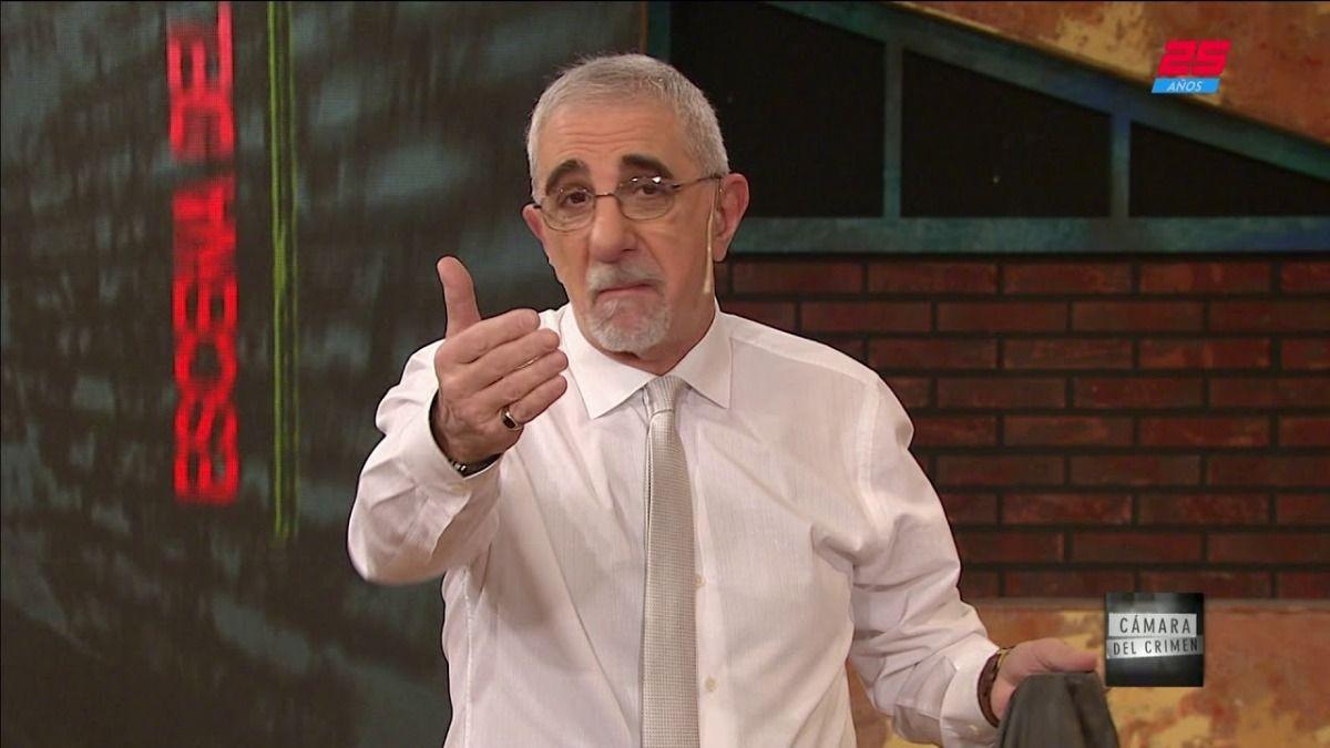El periodista Ricardo Canaletti se contagió de Covid en el mes de abril