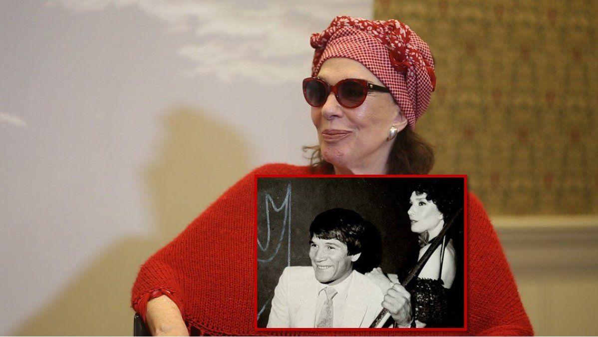 Graciela Borges habló del supuesto romance con Monzón