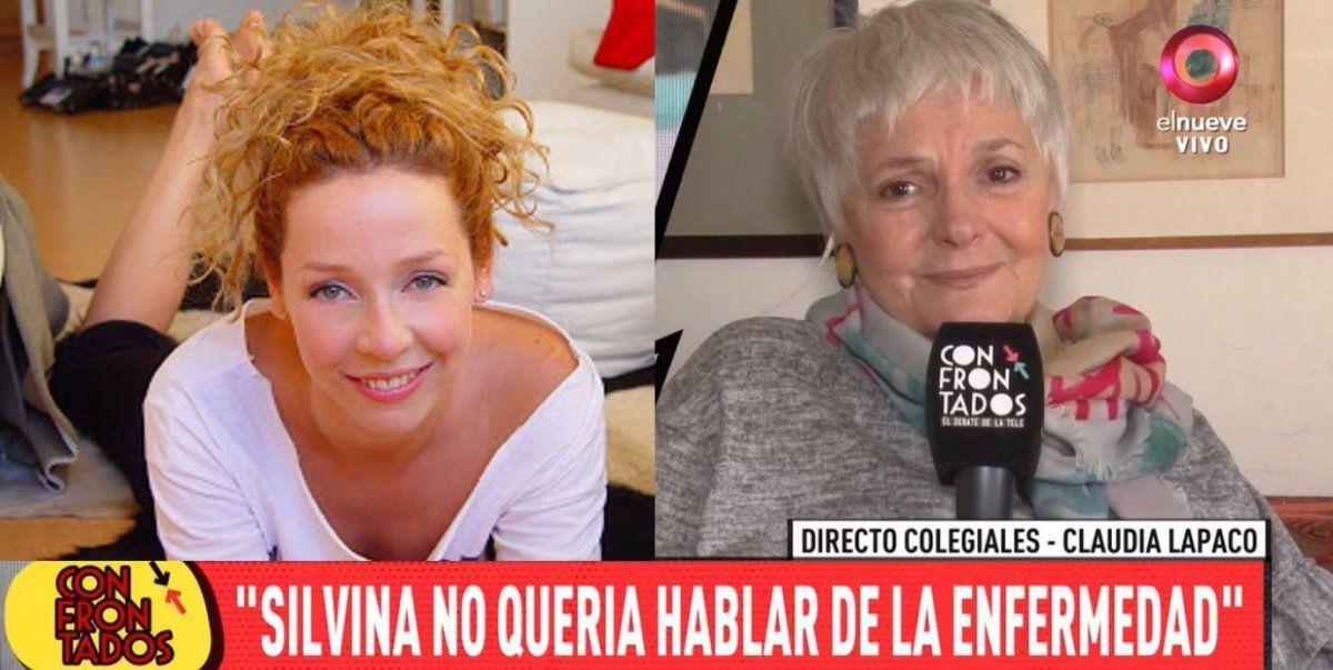 La emotiva despedida de Claudia Lapacó, la última compañera de teatro de Silvina Bosco