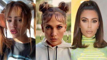 Rosalía, Kim Kardashian y Jennifer Lopez recuperan los looks de los 90