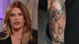 Nazarena Vélez contó cómo reaccionó cuando su ex se tatuó a Noelia Marzol