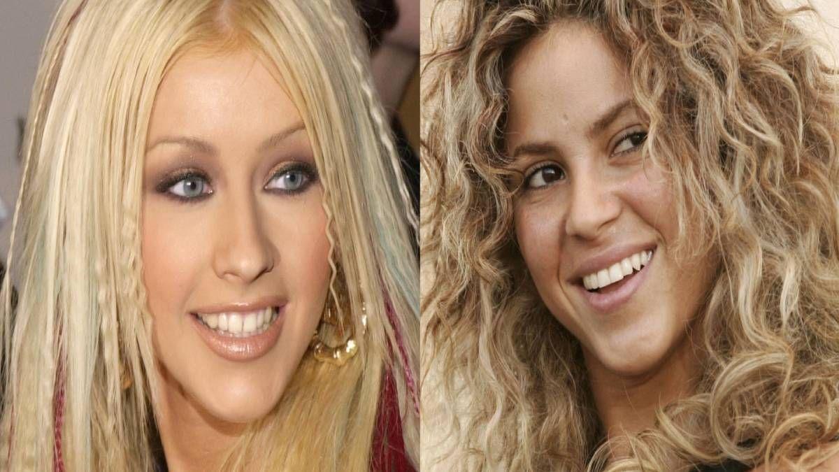 ¡Sueño frustrado! Christina Aguilera siempre deseó grabar con Shakira