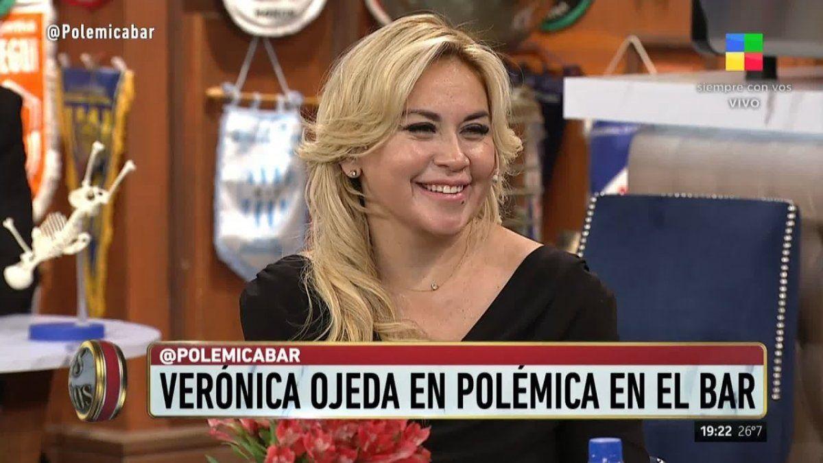 Verónica Ojeda en Polémica en el bar