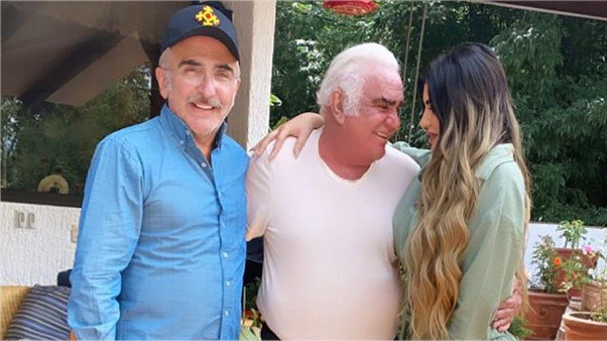 Vicente Fernández conoció a Mariana
