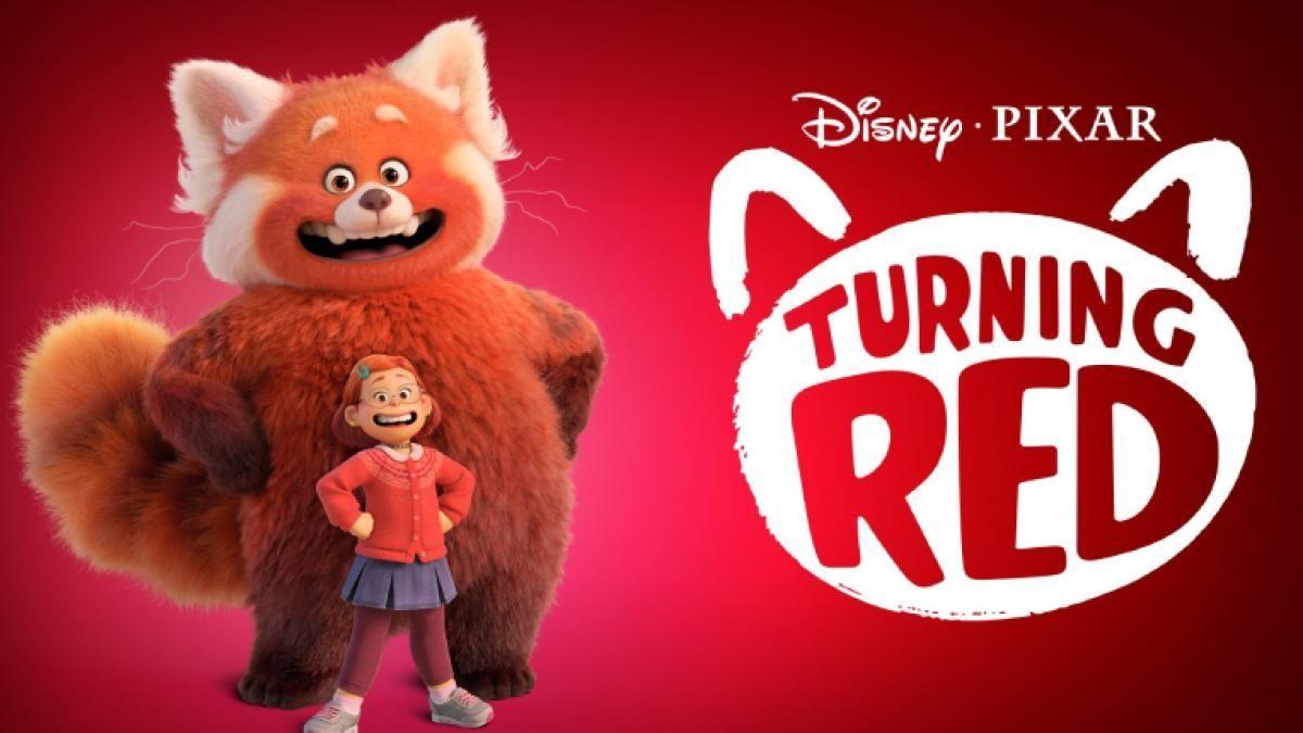 Red la nueva película de Disney Pixar se estrenará en Marzo 2022