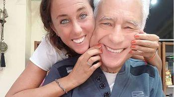 Estefania Pasquini y Alberto Cormillot tuvieron un hijo juntos hace un mes