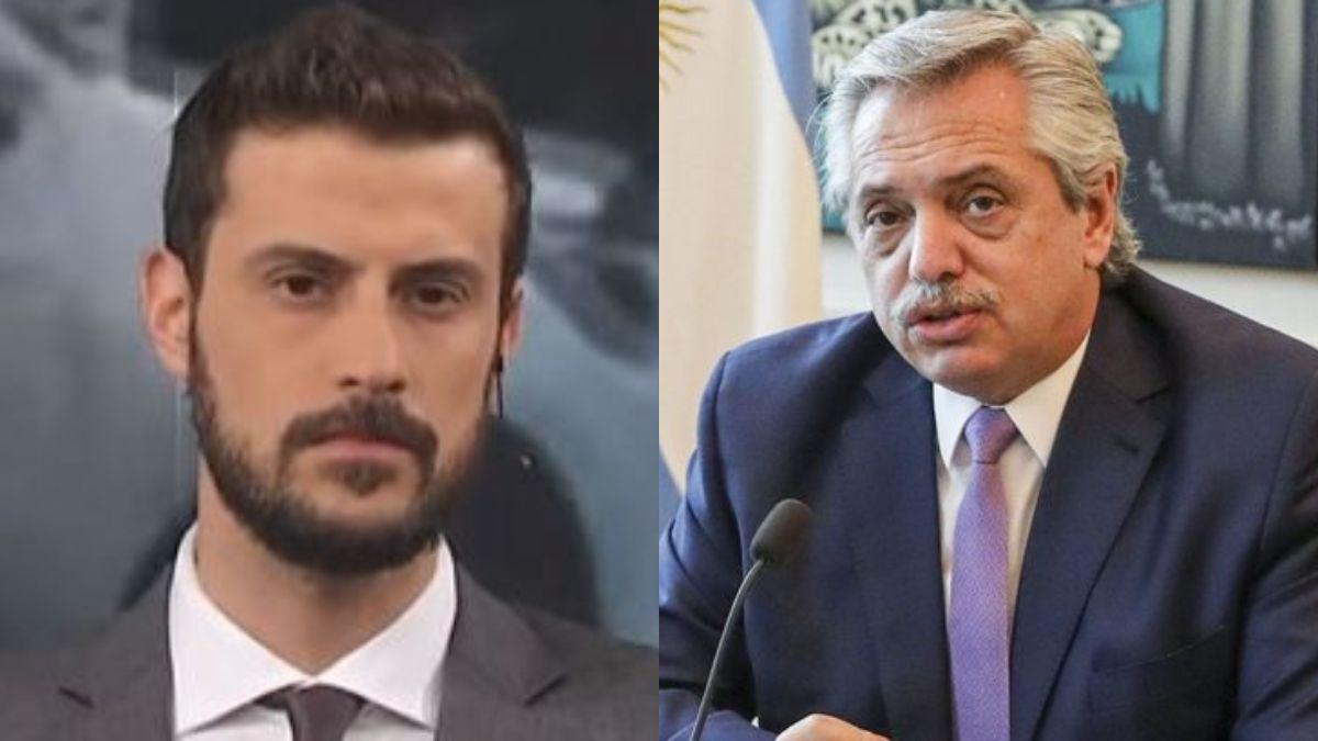 Qué tristeza y qué pena: El descargo de Diego Leuco en contra de Alberto Fernández