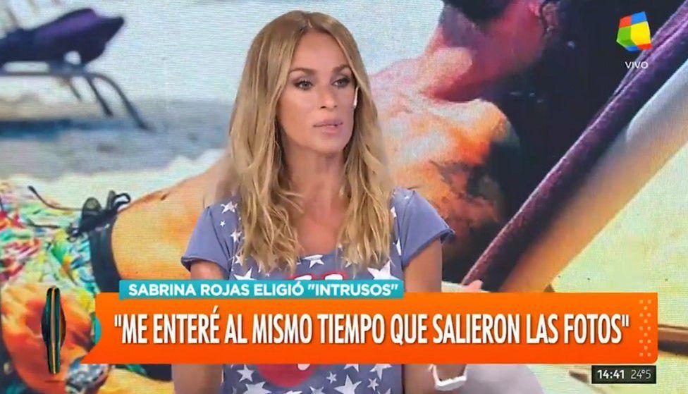 Sabrina Rojas habló de las fotos de Luciano Castro desnudo: Se las sacó durante nuestra separación; yo me moví con gente más confiable