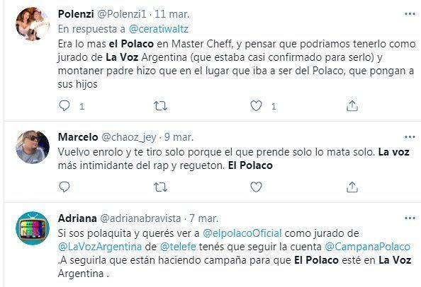 Fanáticos de El Polaco acusan a los Montaner de haberlo dejado fuera de La Voz