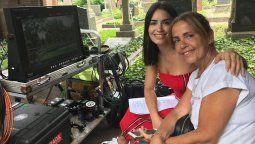 Lali Espósito junto a su madre Majo Riera