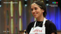 ¡Al borde del llanto! Leticia Siciliani se cruzó con el jurado de Masterchef Celebrity