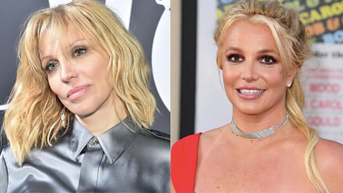 Courtney Loveintentó ayudar a Britney