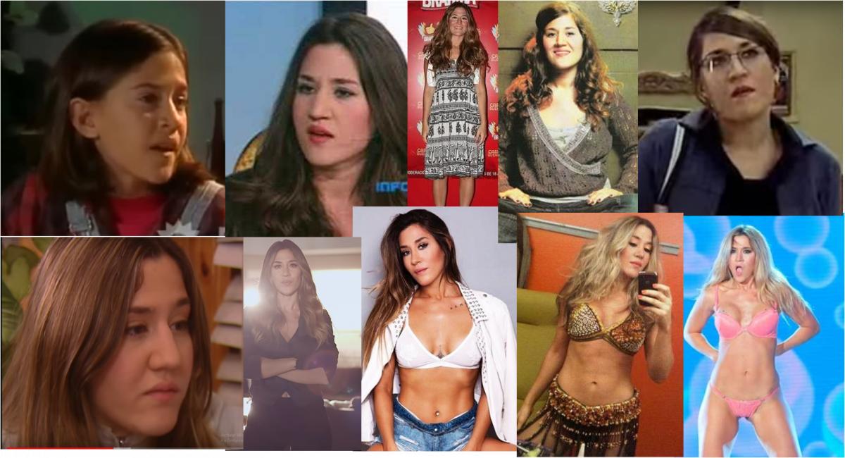 El cambio físico de Jimena Barón para ser una estrella del pop: antes y después de La tonta
