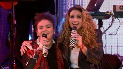 Lucero y su hija cantaron a dúo por primera vez
