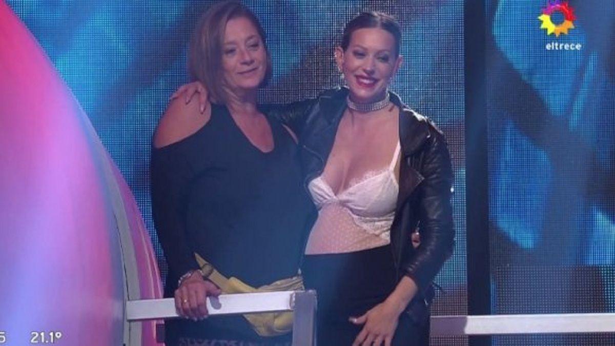Noelia Marzol llevó a su mamá a Bienvenidos a bordo