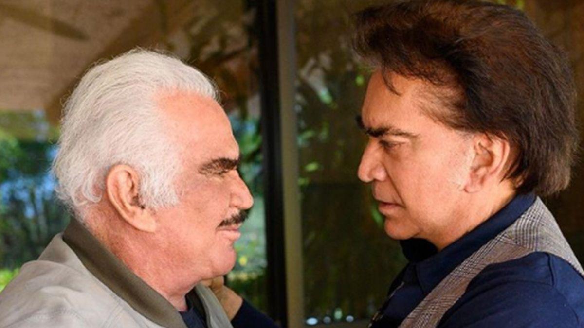 ¡Lo apoyó! El Puma José Luis Rodríguez defendió a Vicente Fernández