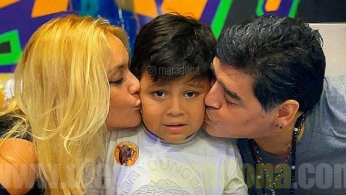 Verónica Ojeda ofreció el ADN de Dieguito Fernando para cotejar las muestras de los supuestos hijos de Maradona