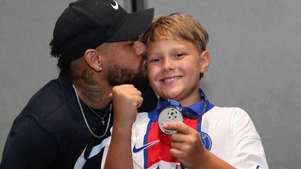 ¡Lindo gesto! Rafa Nadal le envía un mensaje al hijo de Neymar