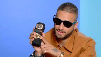 ¡Puro lujo! Maluma no oculta su pasión por los relojes