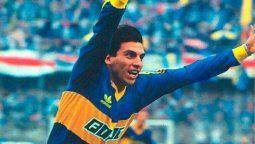 Alfredo Graciani jugó en Boca desde el 85 hasta el 91