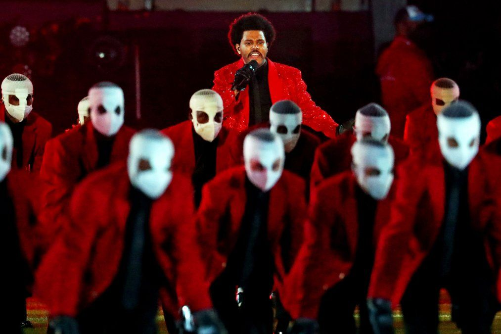 ¡Gustó! The Weeknd amenizó el último Super Bowl