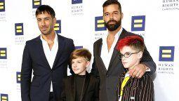 Ricky Martin reveló detalles y gustos de sus hijos Matteo y Valentino