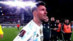 El jugador Lionel Messi superó el récord de Pelé al marcar los 3 goles que dieron el triunfo a la selección Argentina
